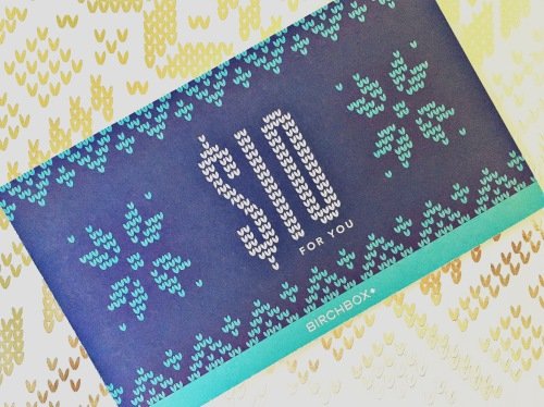 Birchbox $10.00 Coupon