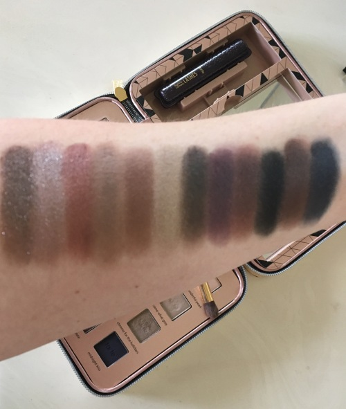 eyeshadow swatches 13-24 Tarte Light of the Party