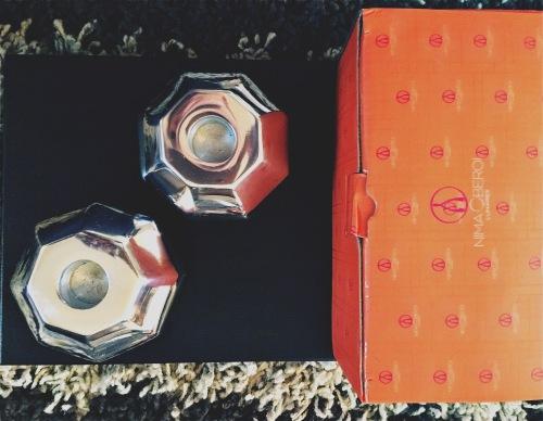 nima Oberoi Lunares orb candlestick holders