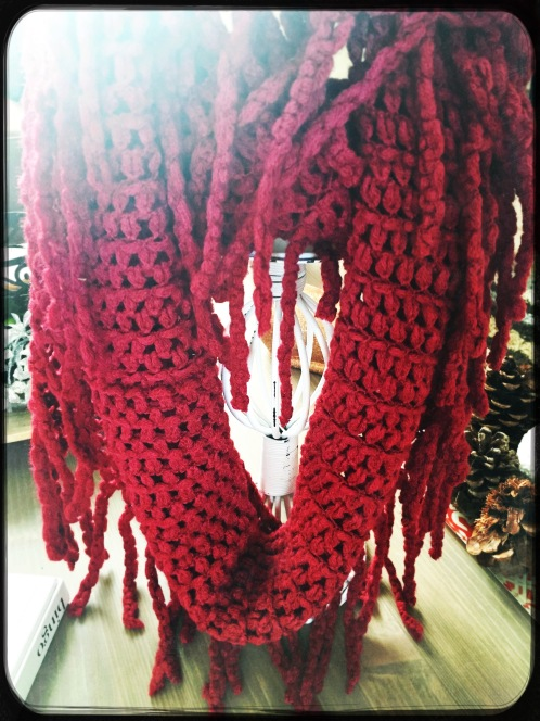 Wantable November Red Scarf
