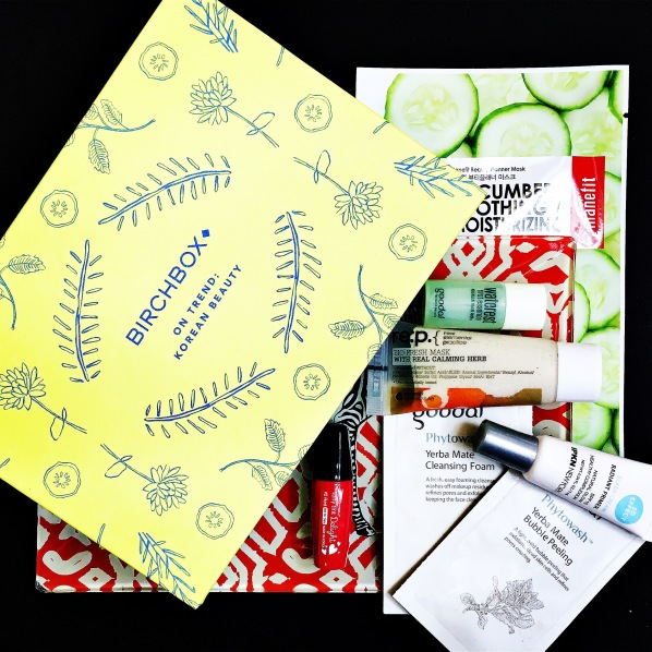 Birchbox On Trend Korean Beauty