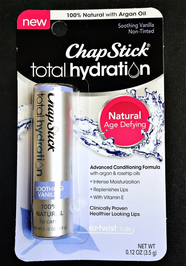 Chapstick total Hydration soothing vanilla