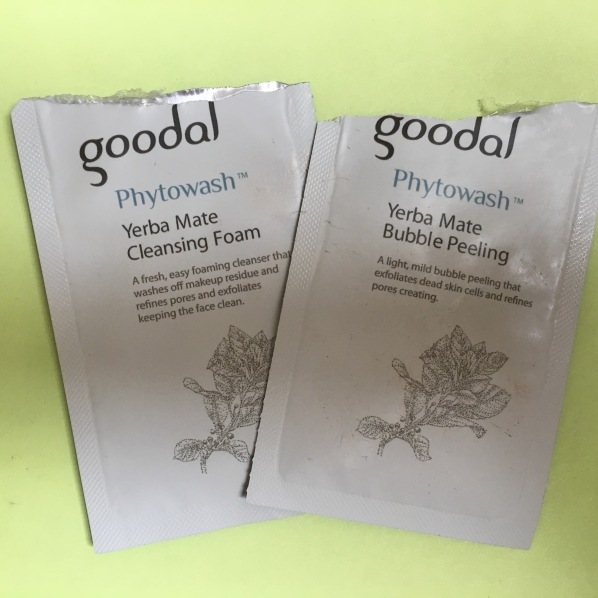 Goodal Yerba Mate Cleansing Foam & Bubble Peeling