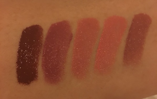 LOreal La Lip Palette Swatches
