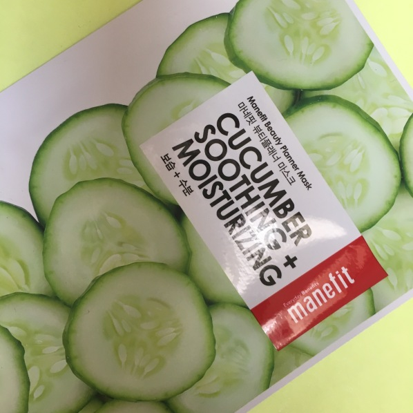 Manefit Cucumber Soothing & Moisturizing Mask
