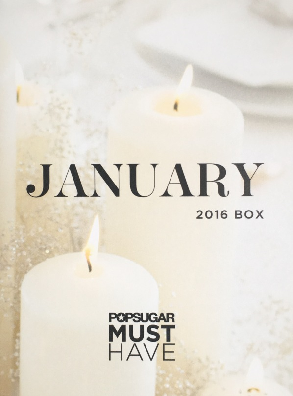 Popsugar Must Have January 2016