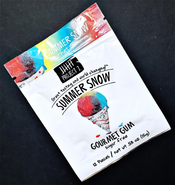 {roject 7 Summer Snow SF Gourmet Gum