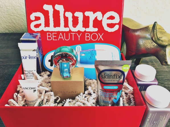 Allure Beauty Box Feb 2016