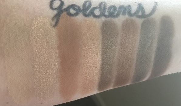Covergirl TruNaked Goldens Swatches 2