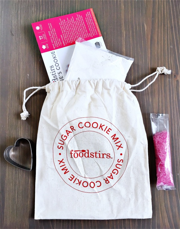 Foodstirs Valentine cookie set 1