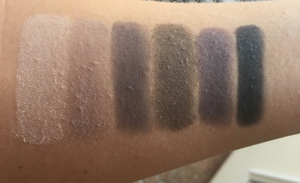 Maybelline The Rock Nudes swatches
