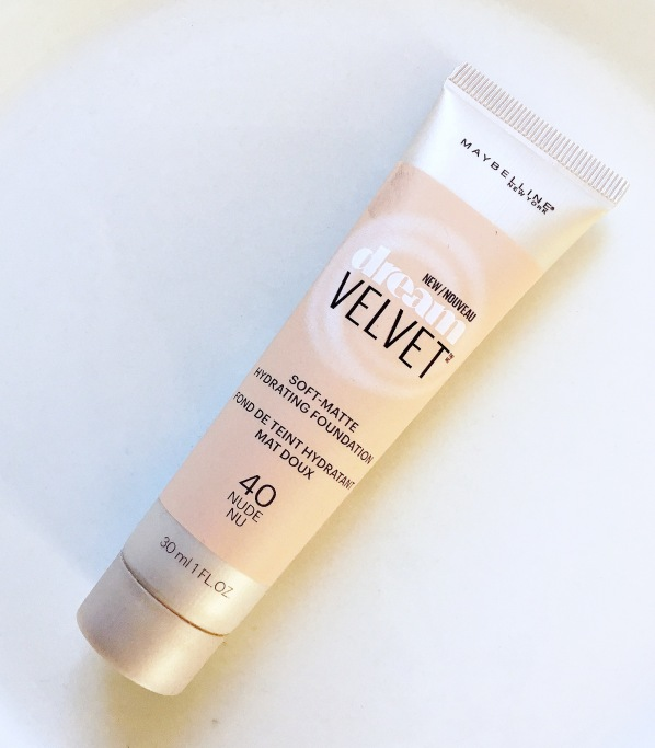 Maybellline Dream Velvet Soft Matte Hydrating foundation