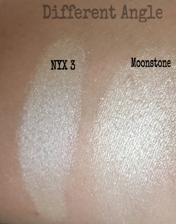 Moonstone vs NYX dupe