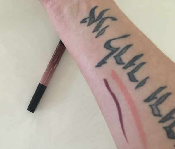 NYX ombre Lip swatch