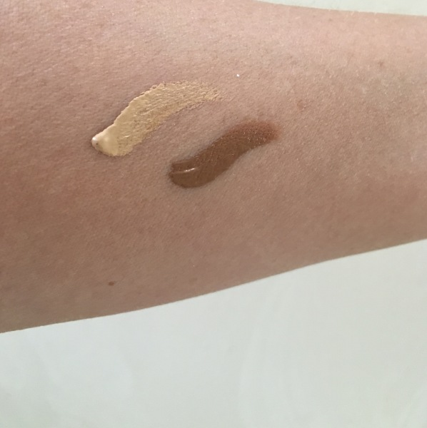 Sculpt & Highlight NYX duo swatch