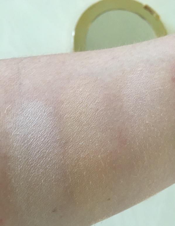 Tarte contour swatch 2