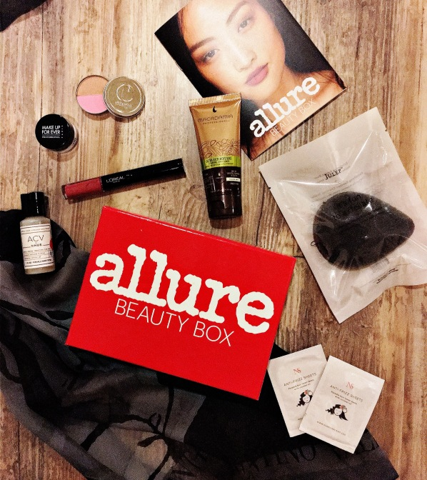 Allure Beauty Box March 2016