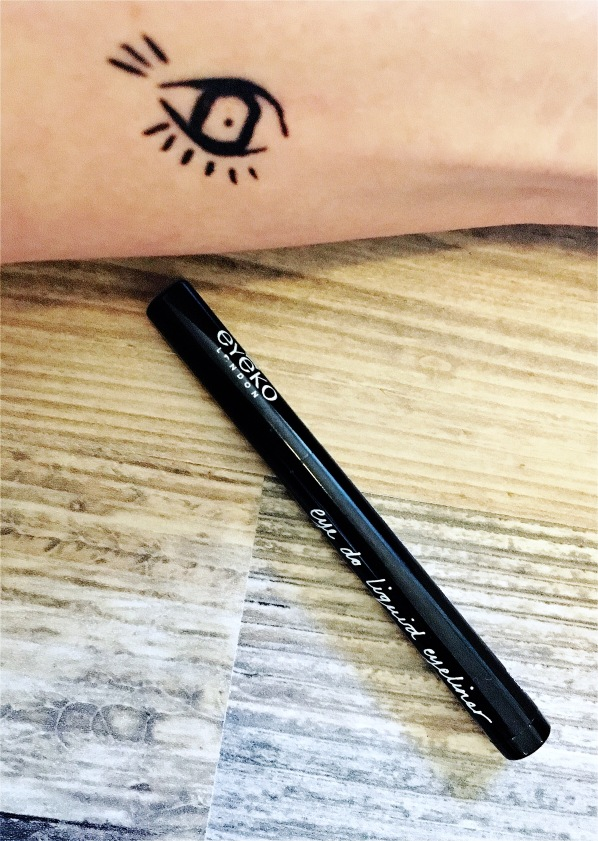 Eyeko Eye-do Liquid liner Arm swatch