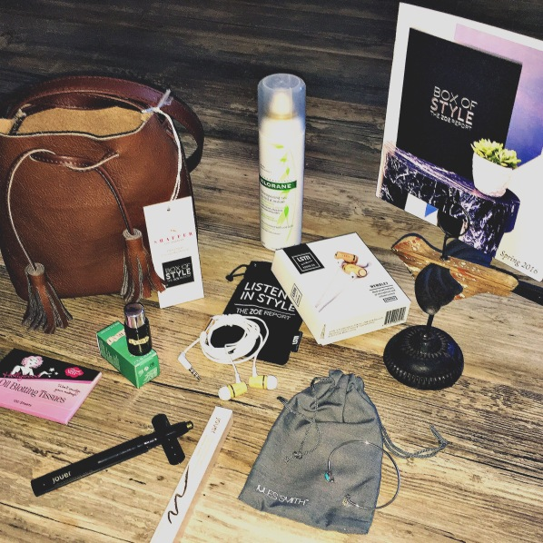 The Zoe Report Spring 2016 Box of Style