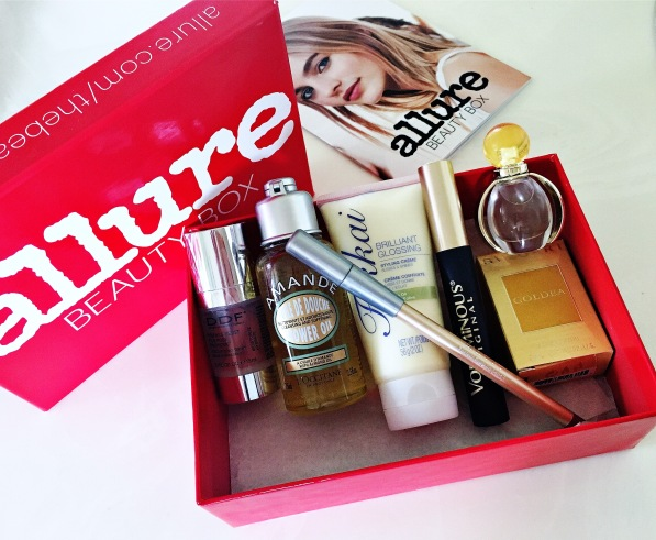Allure the beauty box April 2016