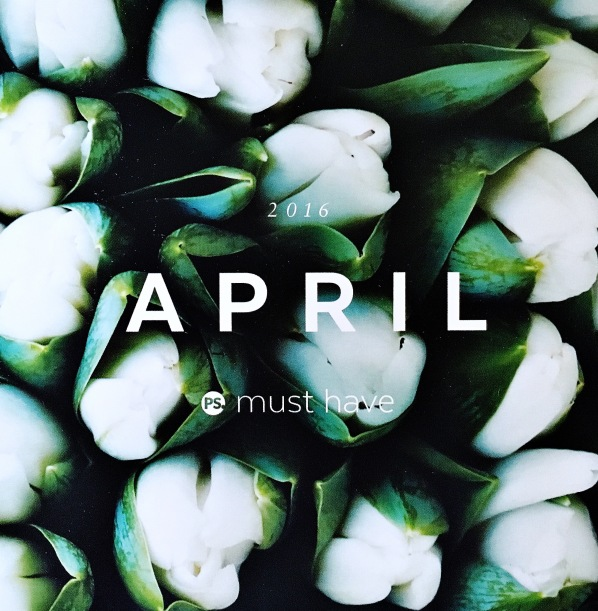 April Must Have 2016