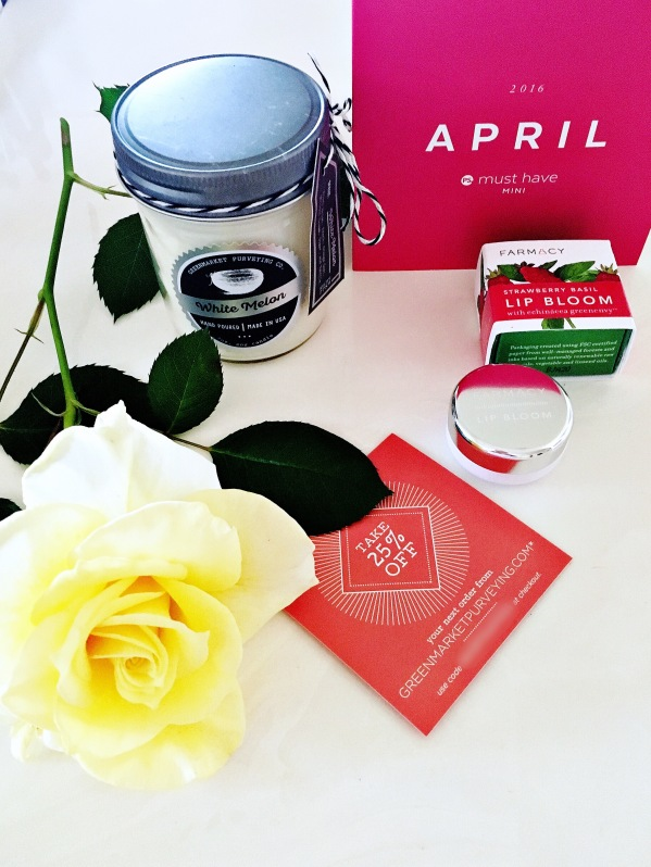 April Popsugar Must Have Mini box