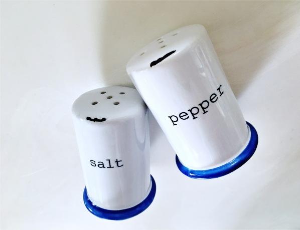 Canvas Home tinWare Salt & Pepper Shaker