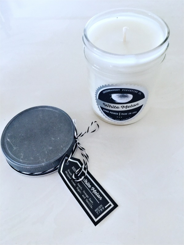 Greenmarket Purveying Co. White Melon Pantry Candle