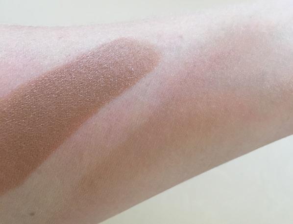 Matte Bronzing stick swatch Milk Makeup