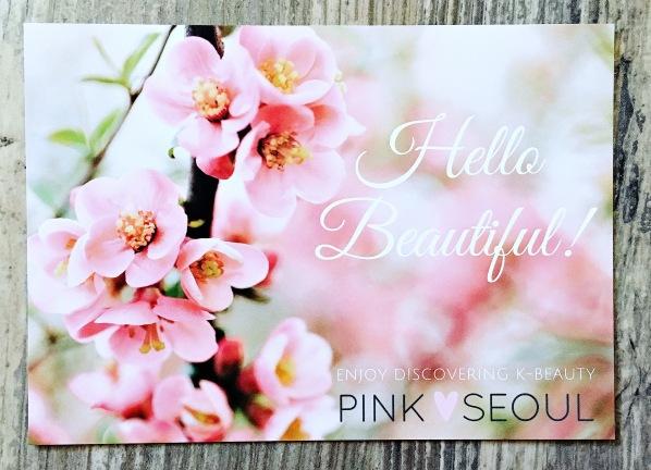 Pink Seoul Card