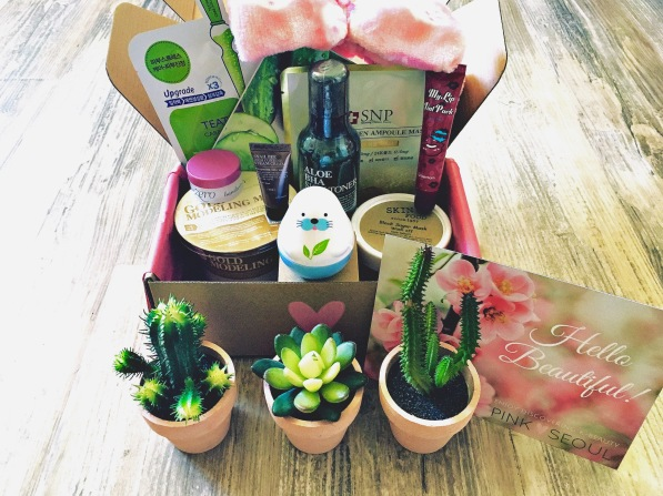 Pink Seoul Custon Subscription Box