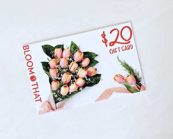 PSMH April bloom this gift card