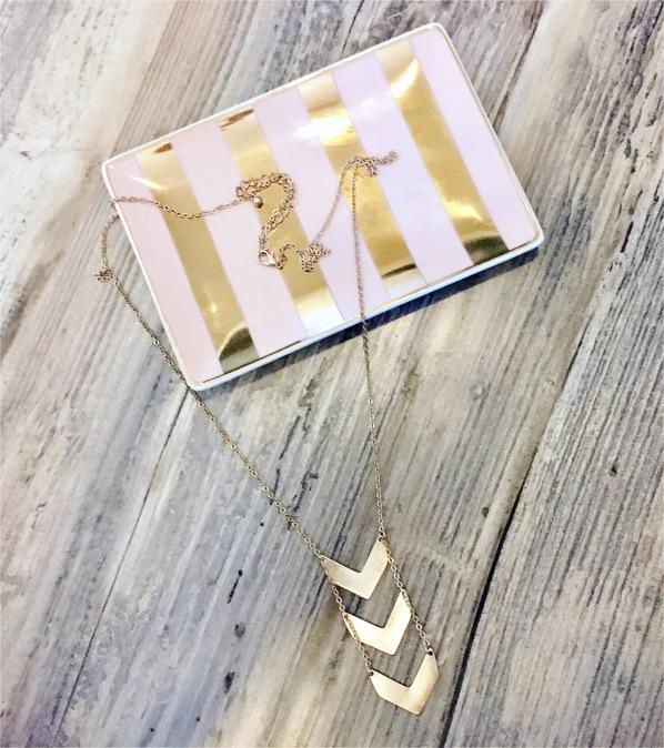 Wantable Mara Necklace Gold