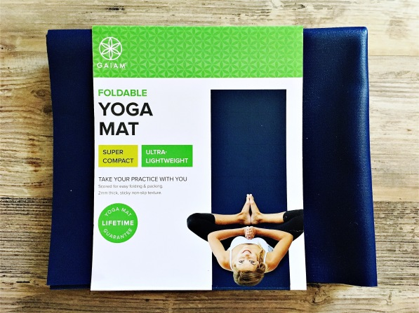 Gaiam foldable yoga mat
