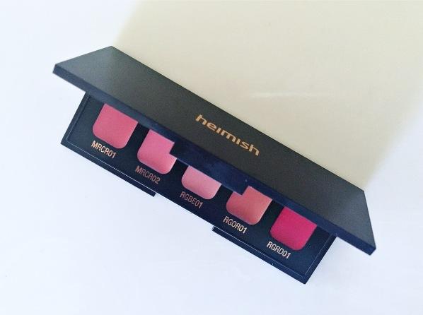 Heimish Lip palette 1