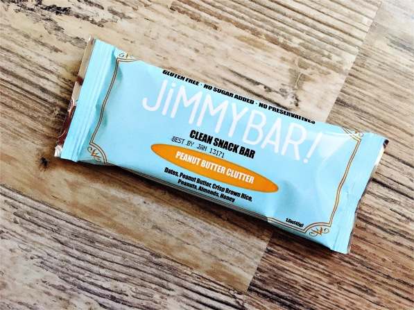 Jimmybar Clean Snack Bar Peanut Butter Clutter
