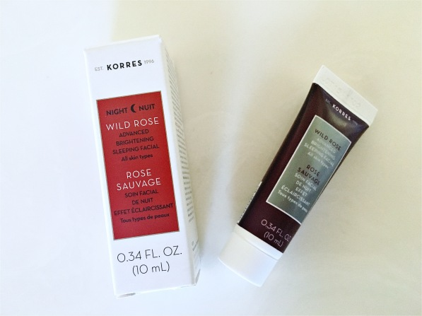 Korres Wild Rose Night Mask