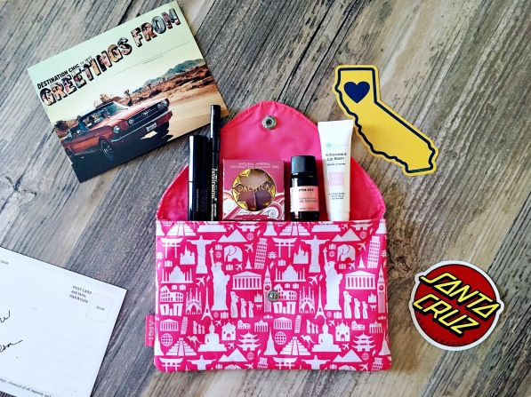 May 2016 Ipsy Glam bag Destination Chic
