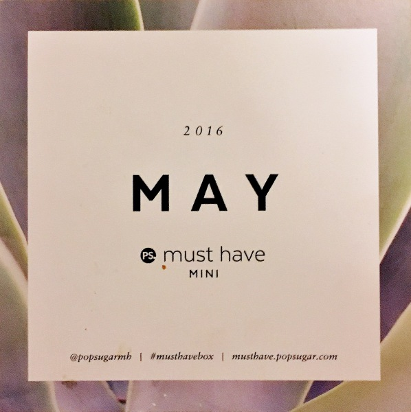 Must Have Mini May 2016