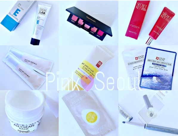 pink seoul may june products