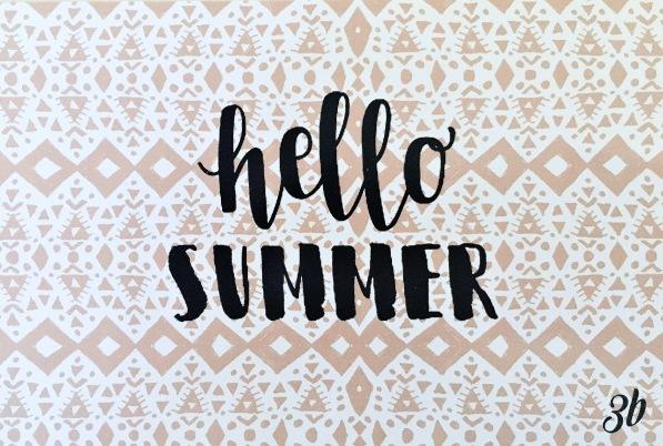 3B Hello Summer
