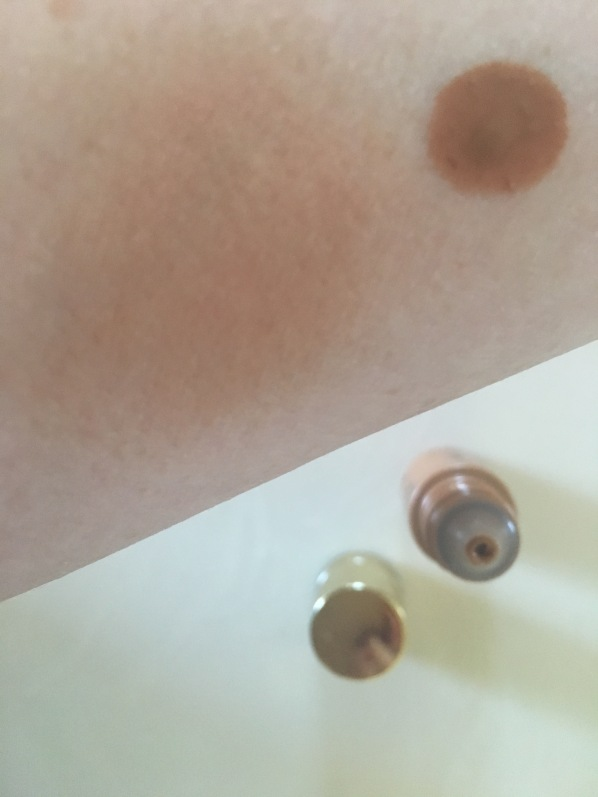bare minerals bronzing serum swatch