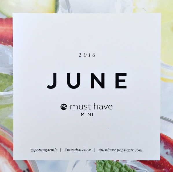 June Must Have Mini Card