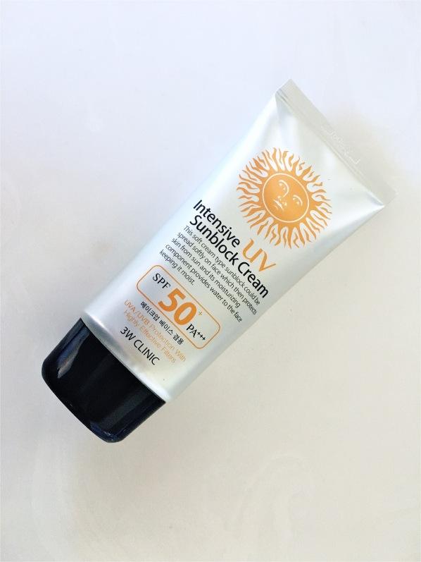 3W Clinic Intensive UV Sunblock 50 PA+++