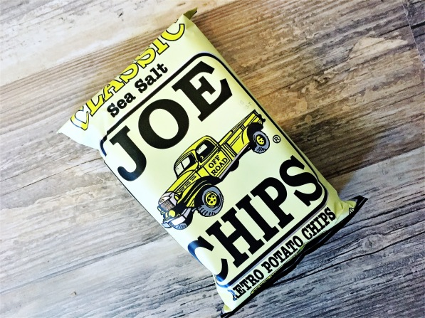 Joe Chips Retro Kettle Cooked chips
