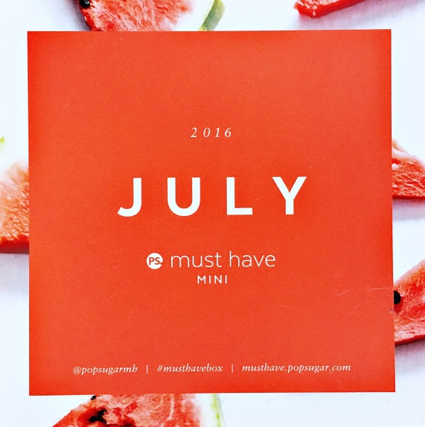 July Must Have Mini