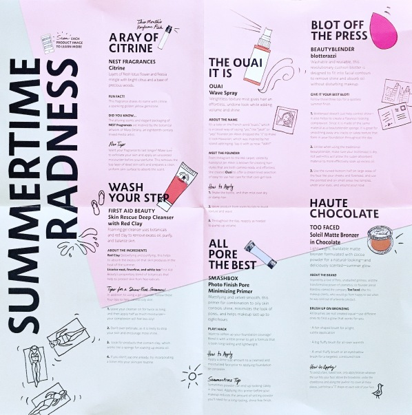 July Playbook Sephora