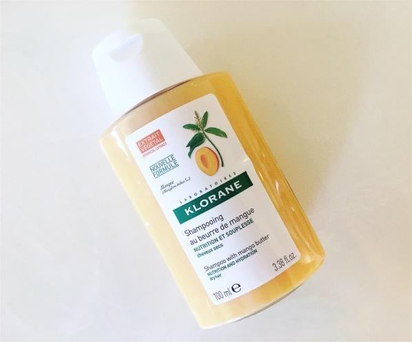 Klorane mango shampoo