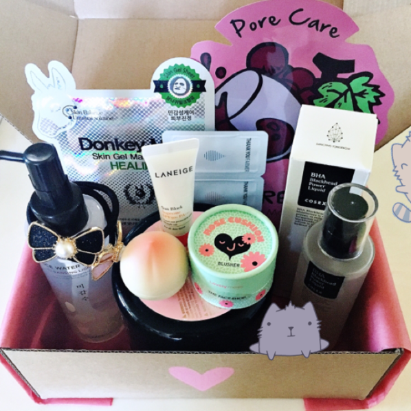 Love Pink Seoul Box July:August Box
