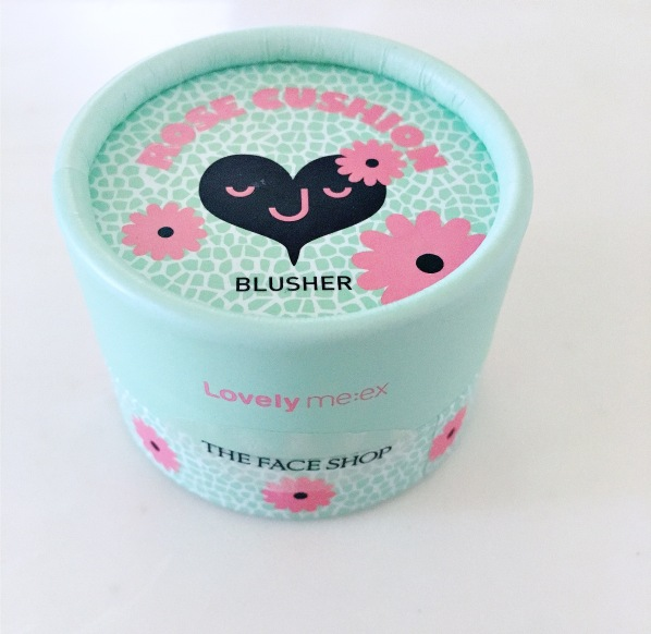 lovely me rose cushion blusger etude house
